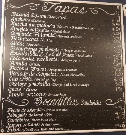 el sopapu carta patatas bravas barcelona restaurantes alioli salsas