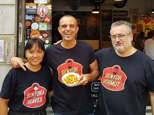 senyor vermut patatas bravas barcelona restaurantes alioli salsas